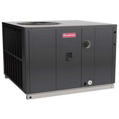 3.5 Ton 14 SEER 81% AFUE 115,000 BTU Heating R-410A Multi-Position Package Air Conditioner Heat Pump with Gas