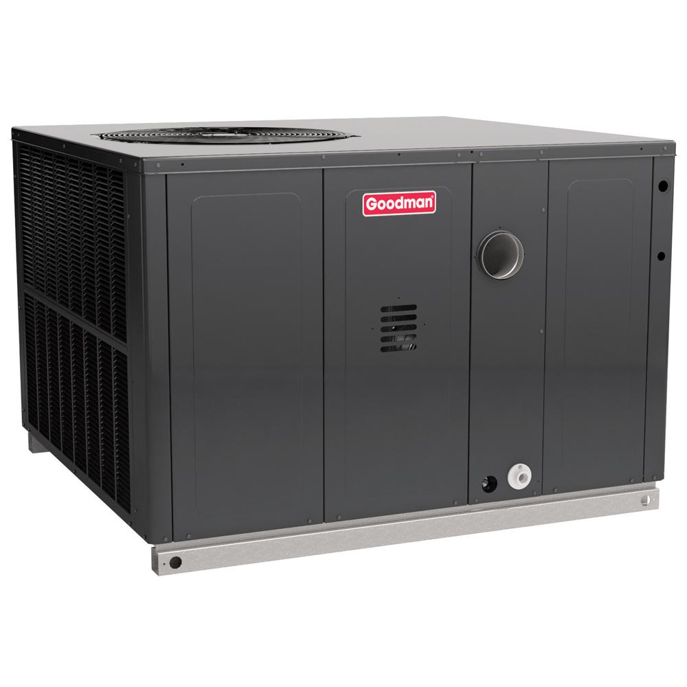 GOODMAN 2.5 Ton 14 SEER 81% AFUE 40,000 BTU Heating R 410A Multi Position  Package Air Conditioner With Gas GPG1430040M41   The Home Depot