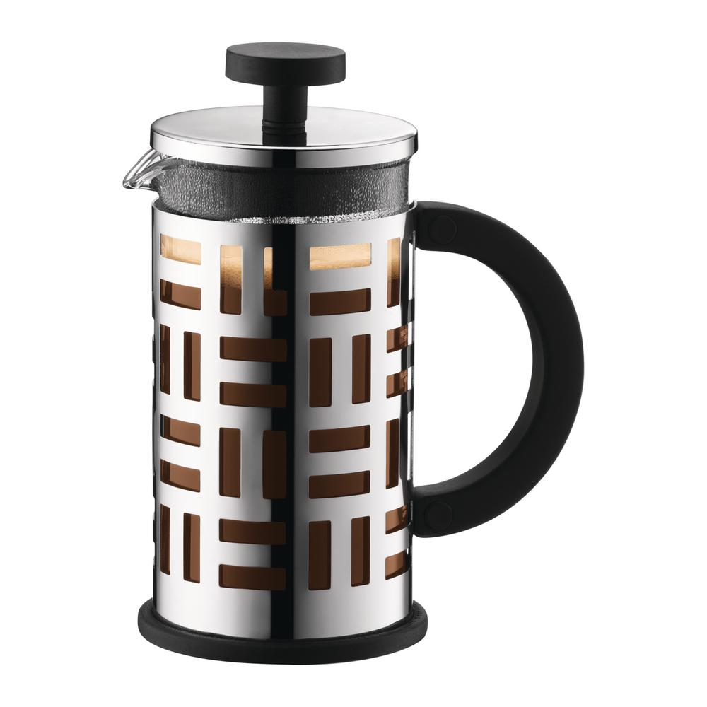 Eileen 3-Cup Black French Press Coffee Maker