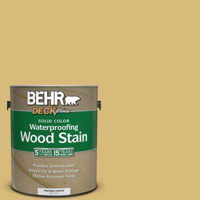 1 gal. #SC-139 Colonial Yellow Solid Color Waterproofing Exterior Wood Stain