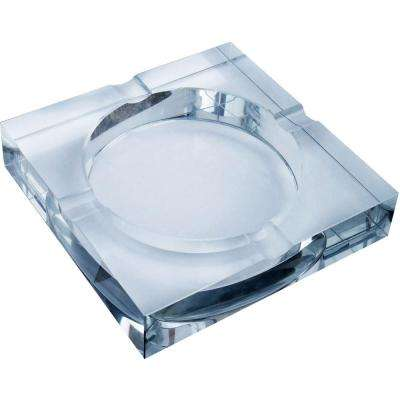 Arnold Crystal Four Lip Cigar Ashtray