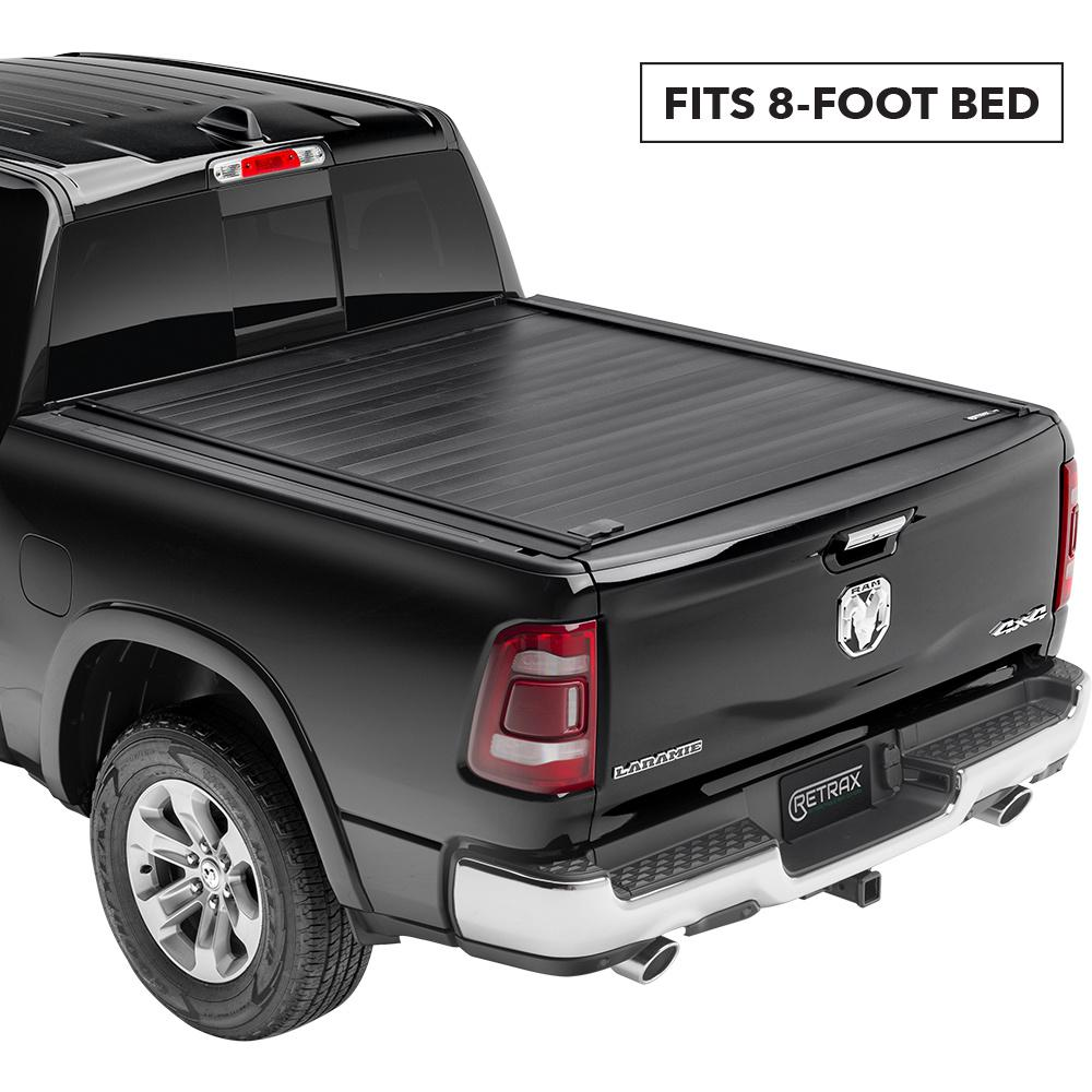 Retrax Pro Mx Tonneau Cover 09 18 19 Classic Ram 1500 10 19 2500 3500 8 Bed W Stake Pockets 80237 The Home Depot