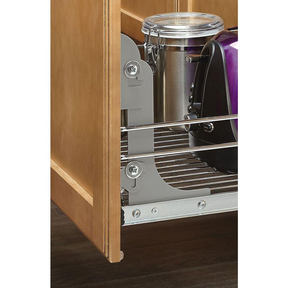 Wire Drawers For Kitchen Cabinets: Sliding Pull-Out Chrome Wire Basket Base Drawer Kitchen