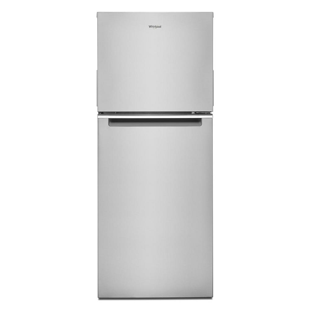 Whirlpool 24 in. 11.6 cu. ft. Top Freezer Refrigerator in Fingerprint Resistant Stainless Finish, Counter Depth