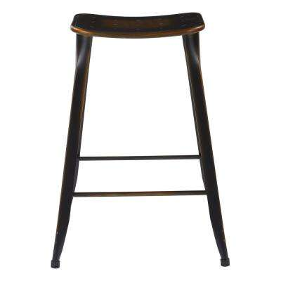 "Durham 26"" Counter Stool in Antique Copper - 4 Pack"