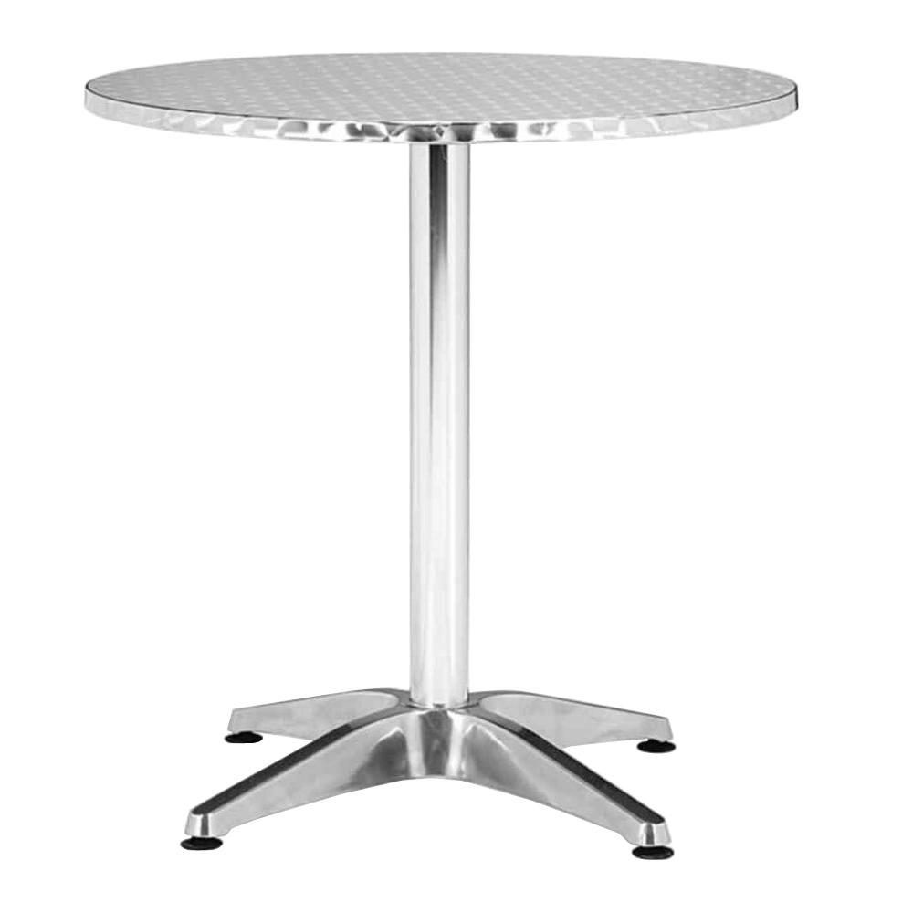 Captivating ZUO Christabel Aluminum Patio Round Table