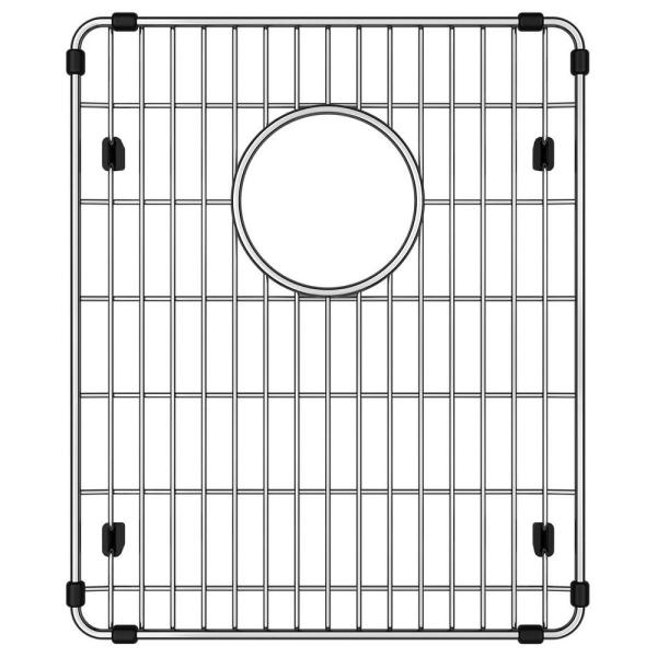 Stainless Steel Kitchen Sink Bottom Grid Fits Bowl Size 13.5 in. x 16 in.
