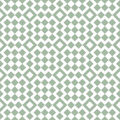 Art in Chaos Collection Turkish Bath in Sea Glass Premium Matte Wallpaper