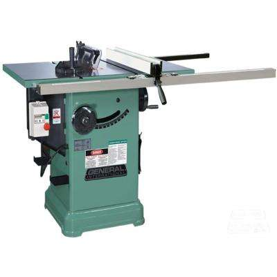 10 in. 3 HP Cabinet Saw