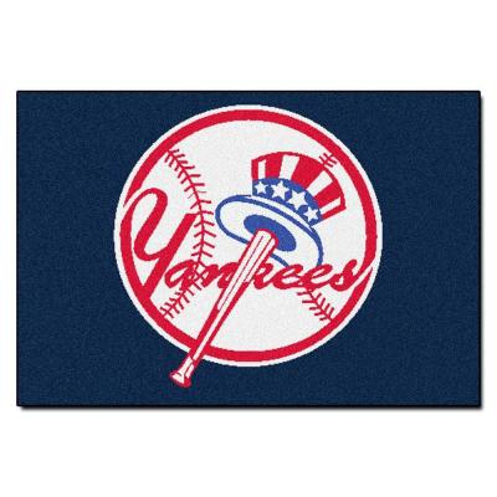 MLB New York Yankees Blue 2 ft. x 3 ft. Area Rug