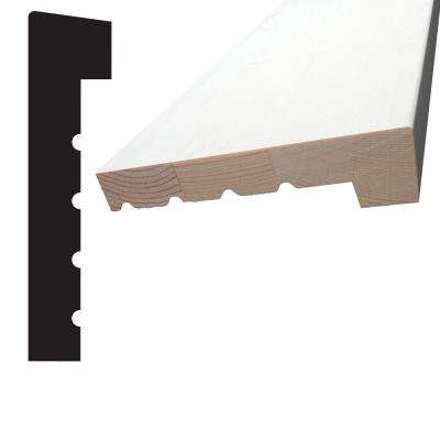 1-1/4 in. x 5-1/4 in. x 84 in. Primed Finger-Jointed Pine Window Stool Moulding