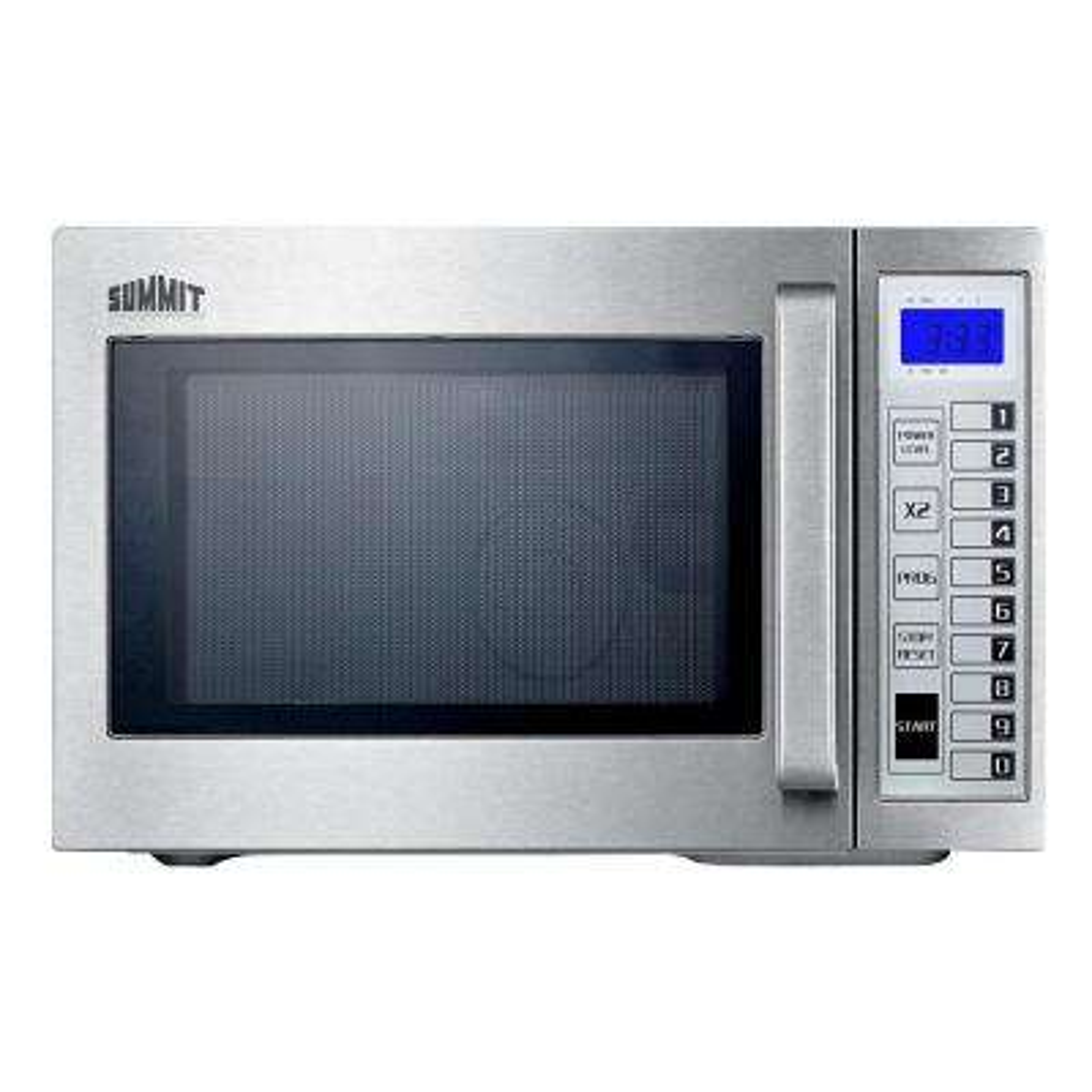 0.9 cu. ft. Countertop Microwave in Stainless Steel