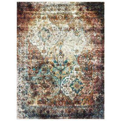Panama Jack Bohemian Martinique Multi 7 ft. 10 in. x 10 ft. 6 in. Area Rug