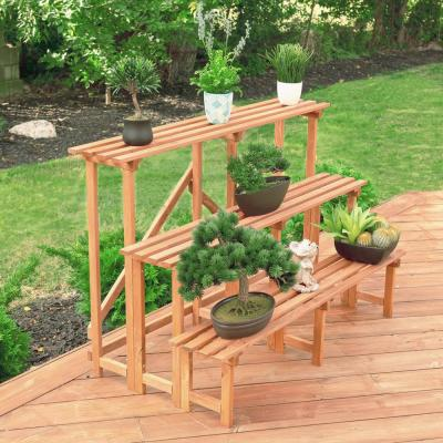 Wood - Plant Stands - Planters - The Home Depot