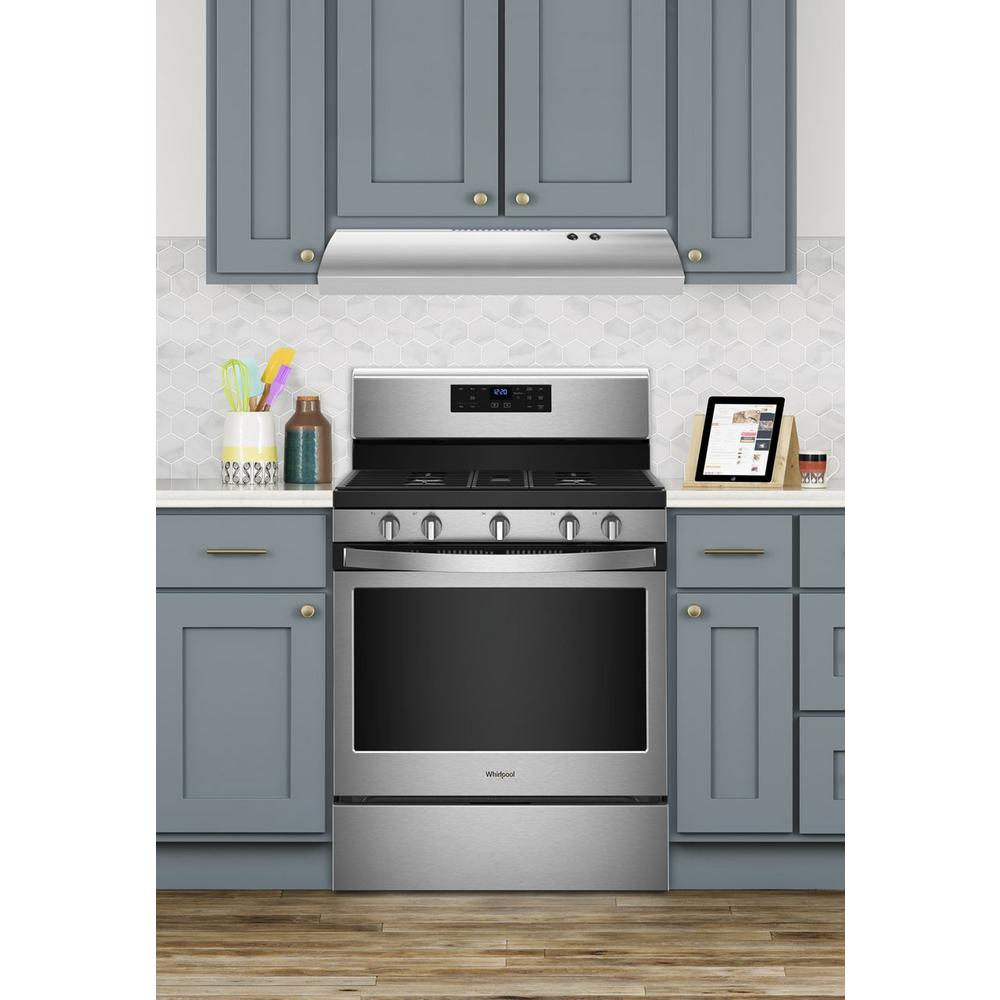 Whirlpool 30 in. Non-Vented Range Hood in Stainless Steel