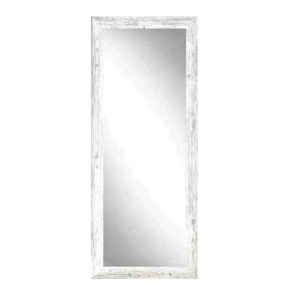 Pinnacle Tiered Barnwood Distressed White Decorative