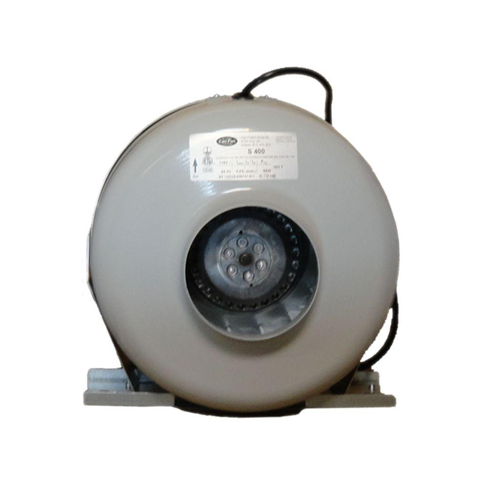 Can Fan S400 120 CFM Variable Mount Ceiling Or Wall Bathroom Exhaust Fan And 4 In. High Density