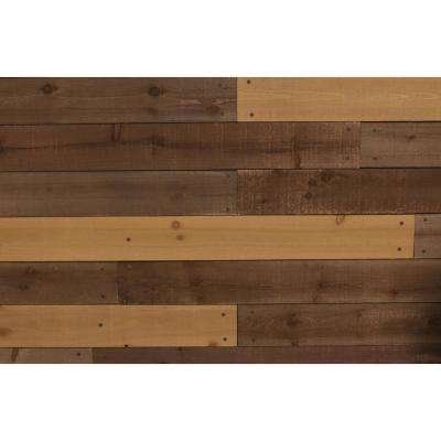 0.38 in. x 3.99 in. x 4 ft. Barn Board Wall Cover (51.7 sq. ft, per 40-Pack)