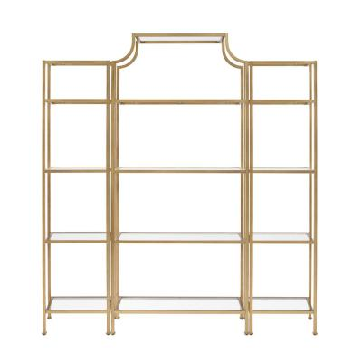 Aimee Soft Gold Etagere Set (3-Piece)
