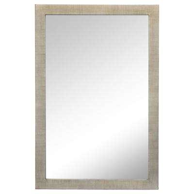 Emery 36 in. x 24 in. Framed Wall Mirror