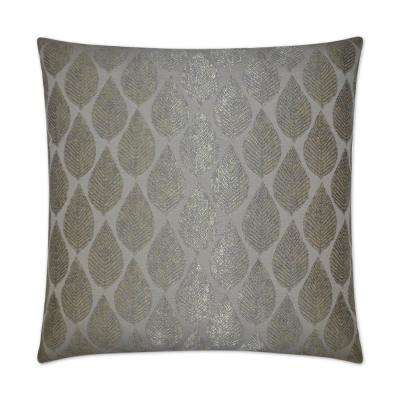 Stella Feather Down 24 in. x 24 in. Standard Decorative Throw Pillow