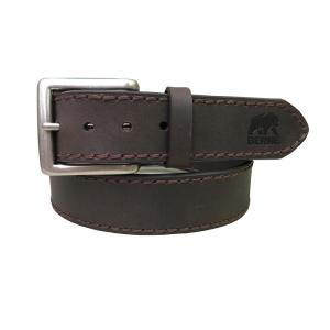 f1fa909ce8 Dickies Men's Size 34 Black Double Prong Buckle Genuine Leather Belt ...