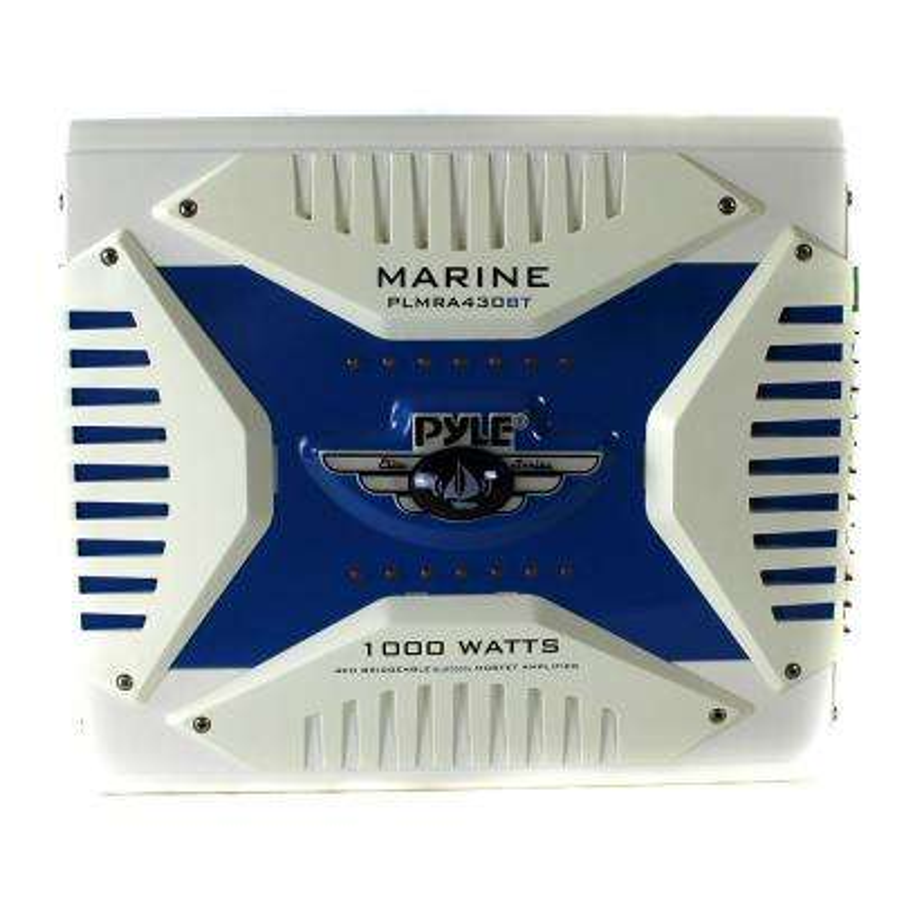 PLMRA430BT 1000-Watt 4 Channel Amplifier Bluetooth Marine ATV Amp