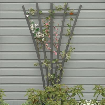 Coastal Teak Recycled Plastic Hartford Fan Trellis