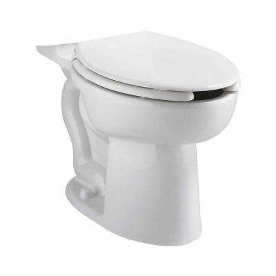 Cadet EverClean Pressure-Assisted 1.1/1.6 GPF Right Height Elongated Toilet Bowl Only in White