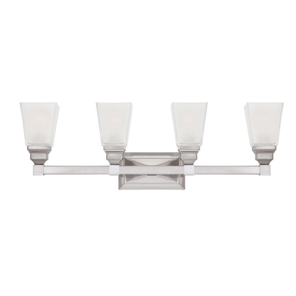 Designers Fountain Aiden 16-Watt 18 in. Chrome Integrated LED Bath Light