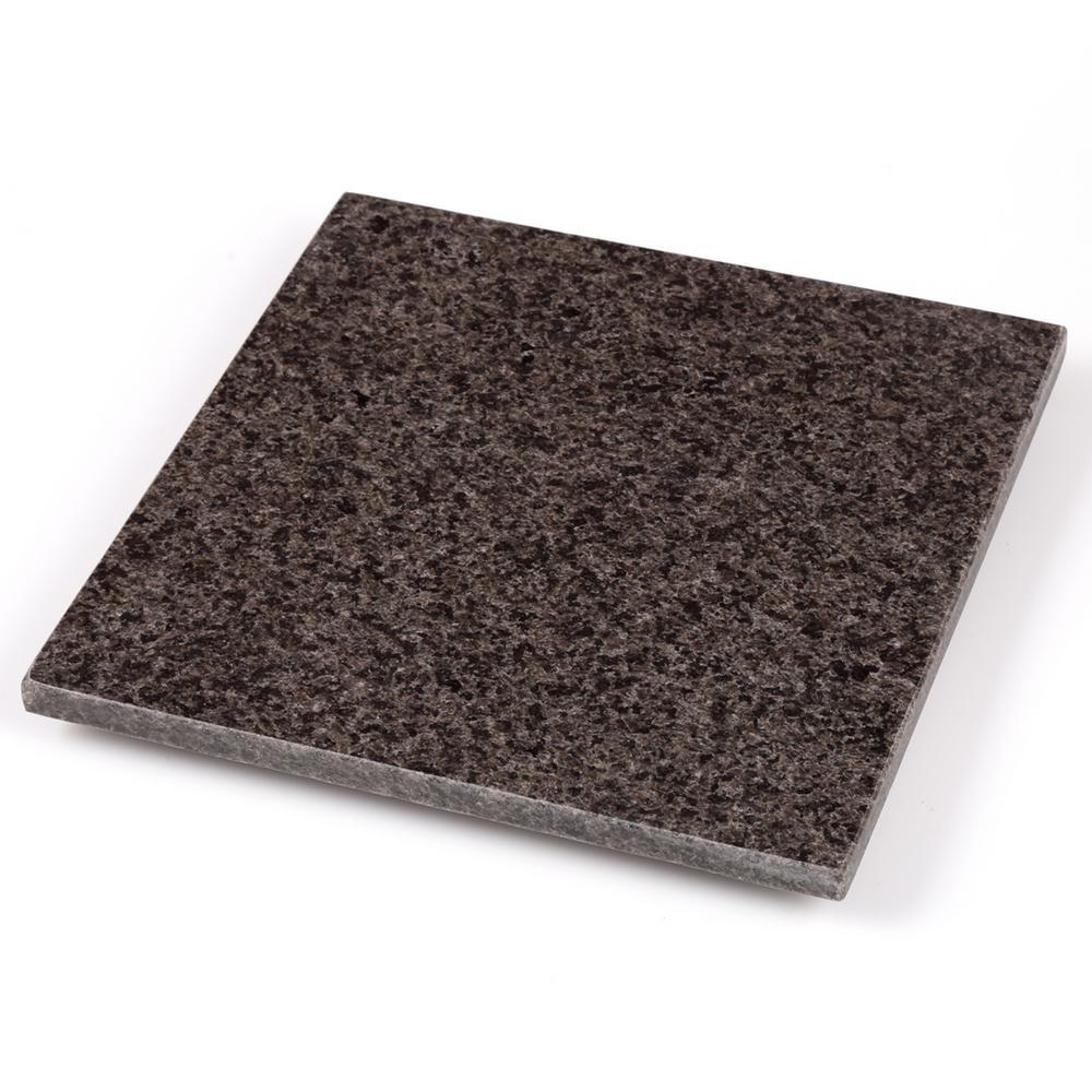 Grey Granite 8 in. Square Trivet