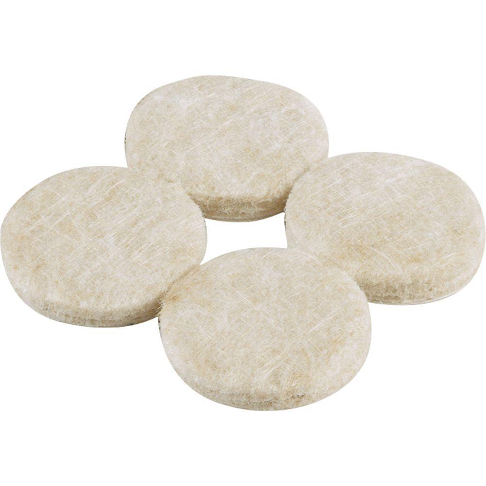 1-1/2 in. Heavy Duty Self-Adhesive Felt Pads (24 per Pack)