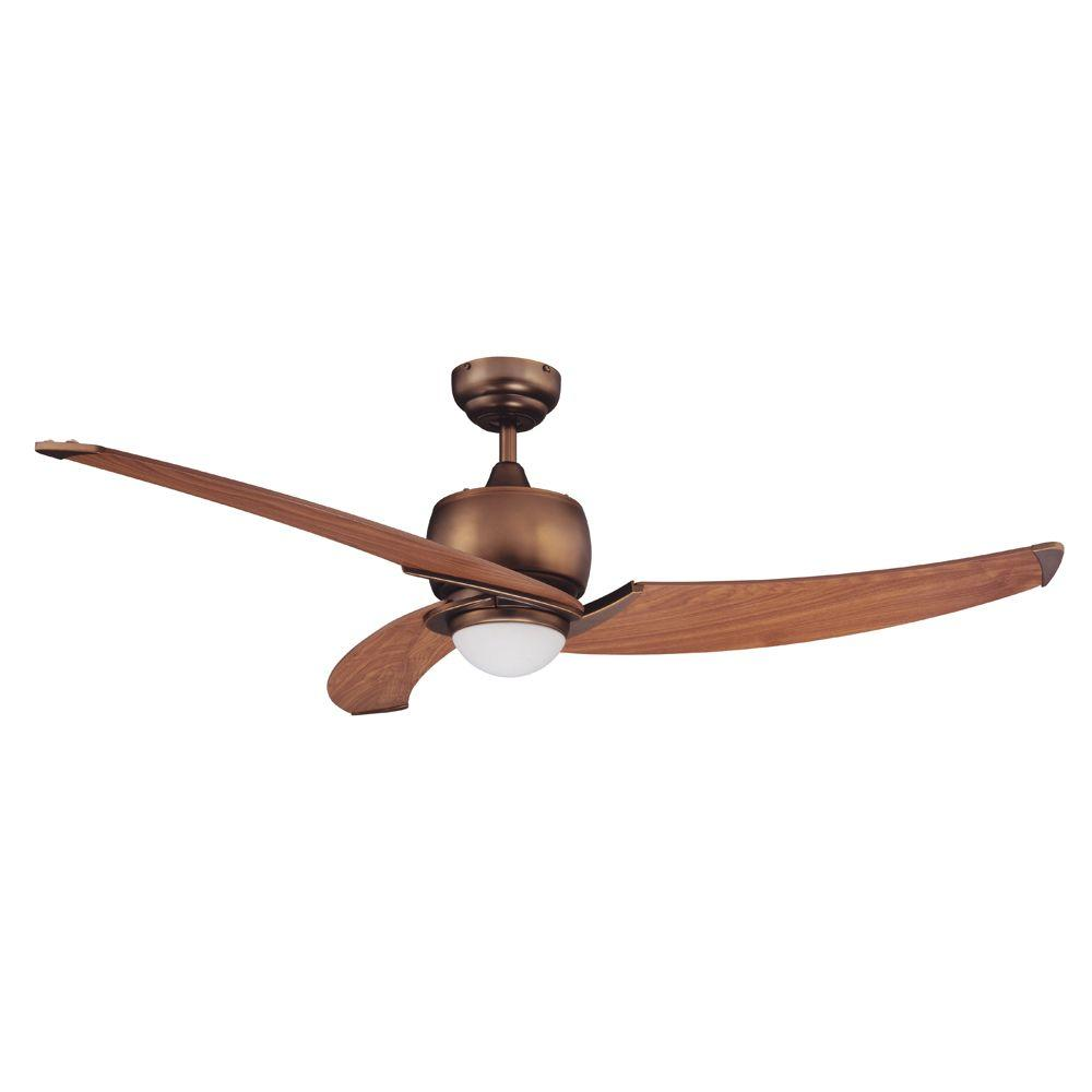 Treo 52 in. Architectural Bronze Ceiling Fan