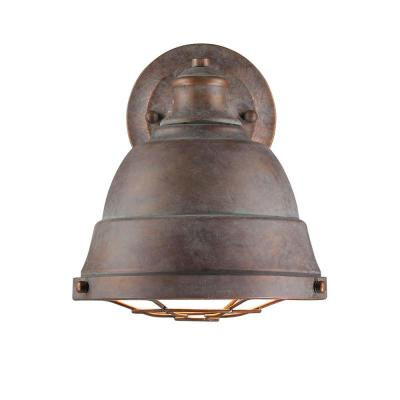 Bartlett 1-Light Copper Patina Wall Sconce