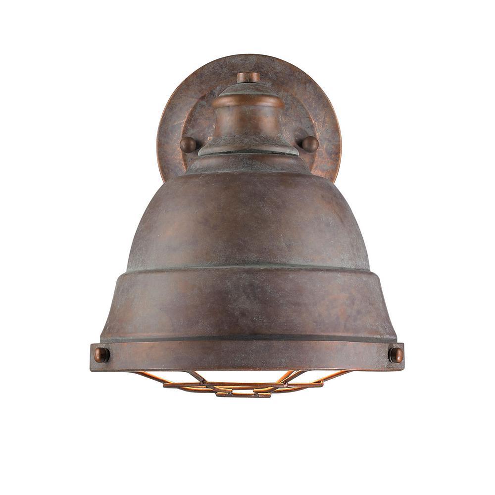 Bartlett 1-Light Copper Patina Wall Sconce