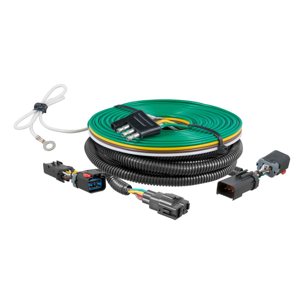 curt custom towed vehicle rv wiring harness 58915 the. Black Bedroom Furniture Sets. Home Design Ideas