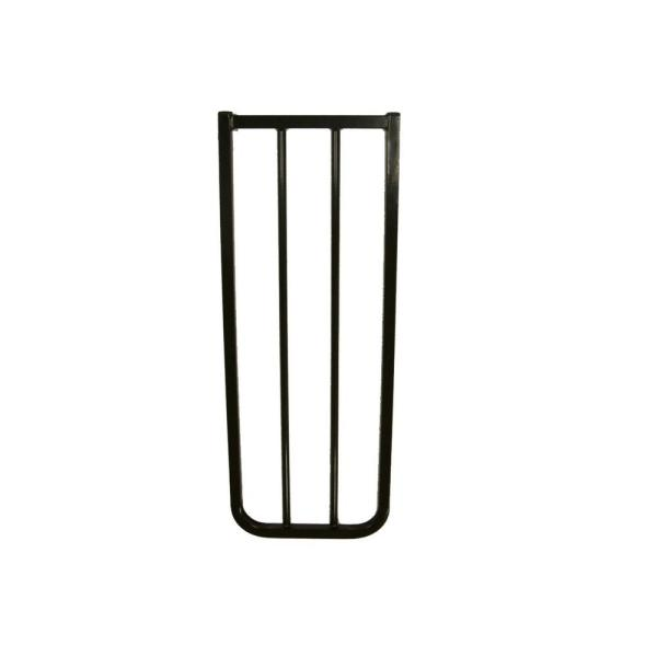 30 in. H x 10.5 in. W x 2 in. D Extension for Stairway Special or Auto Lock Gate Black
