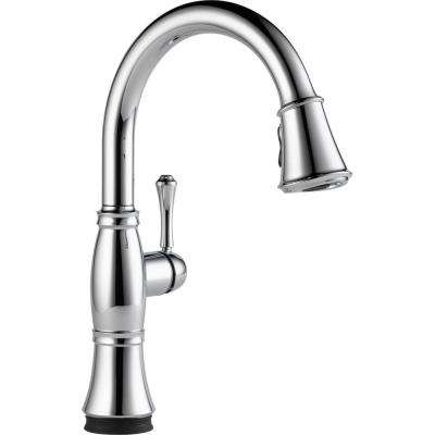 Cassidy Touch Single-Handle Pull-Down Sprayer Kitchen Faucet in Chrome