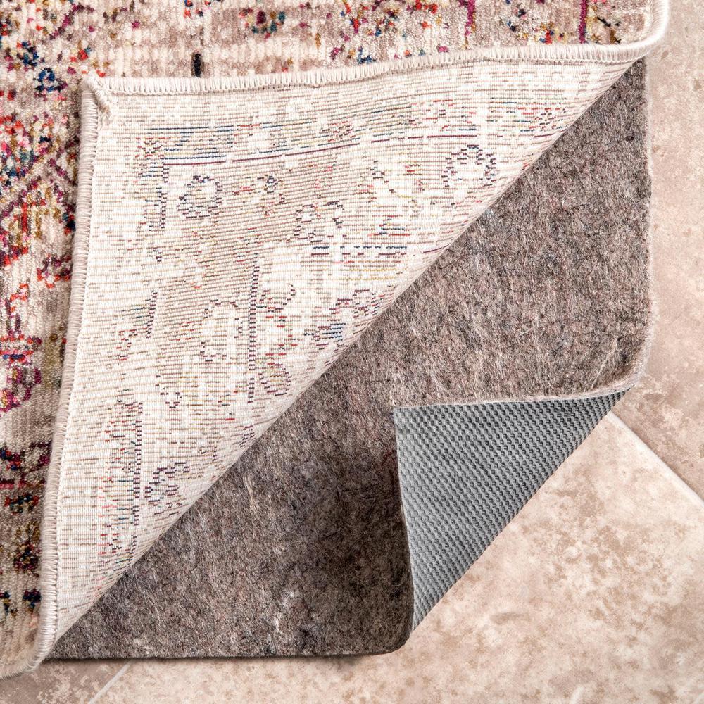 Basketweave Plus Non-Slip Grip 6 ft. x 9 ft. Rectangle Rug Pad