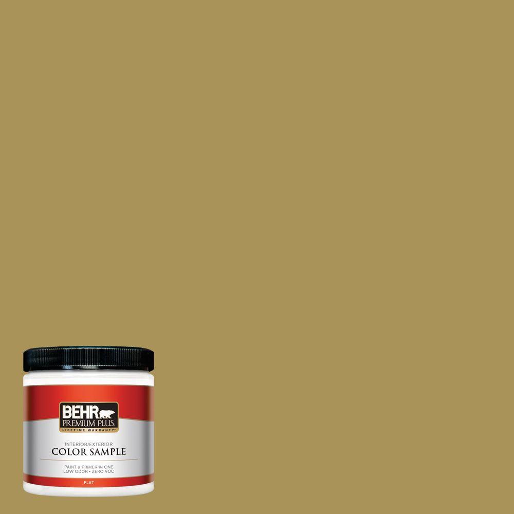 8 oz. #M310-6 Bitter Lemon Interior/Exterior Paint Sample