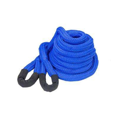 DitchPig 11/2 in. x 30 ft. 64300 lbs. Breaking Strength Kinetic Energy Vehicle Recovery Rope