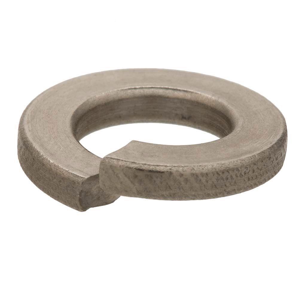 Everbilt 3/8 in. Stainless-Steel Split Lock Washer (25-Piece)
