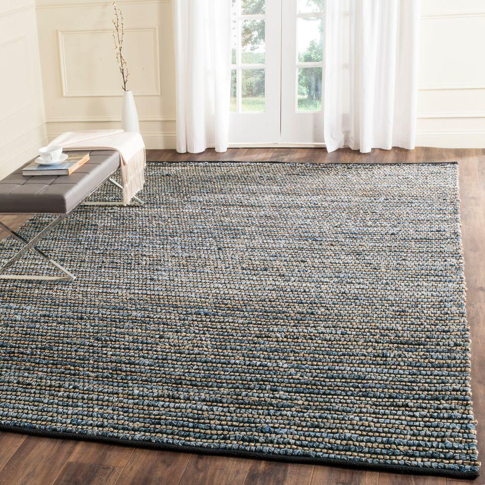 Safavieh Cape Cod Blue 8 Ft X 10 Ft Area Rug Cap365a 8