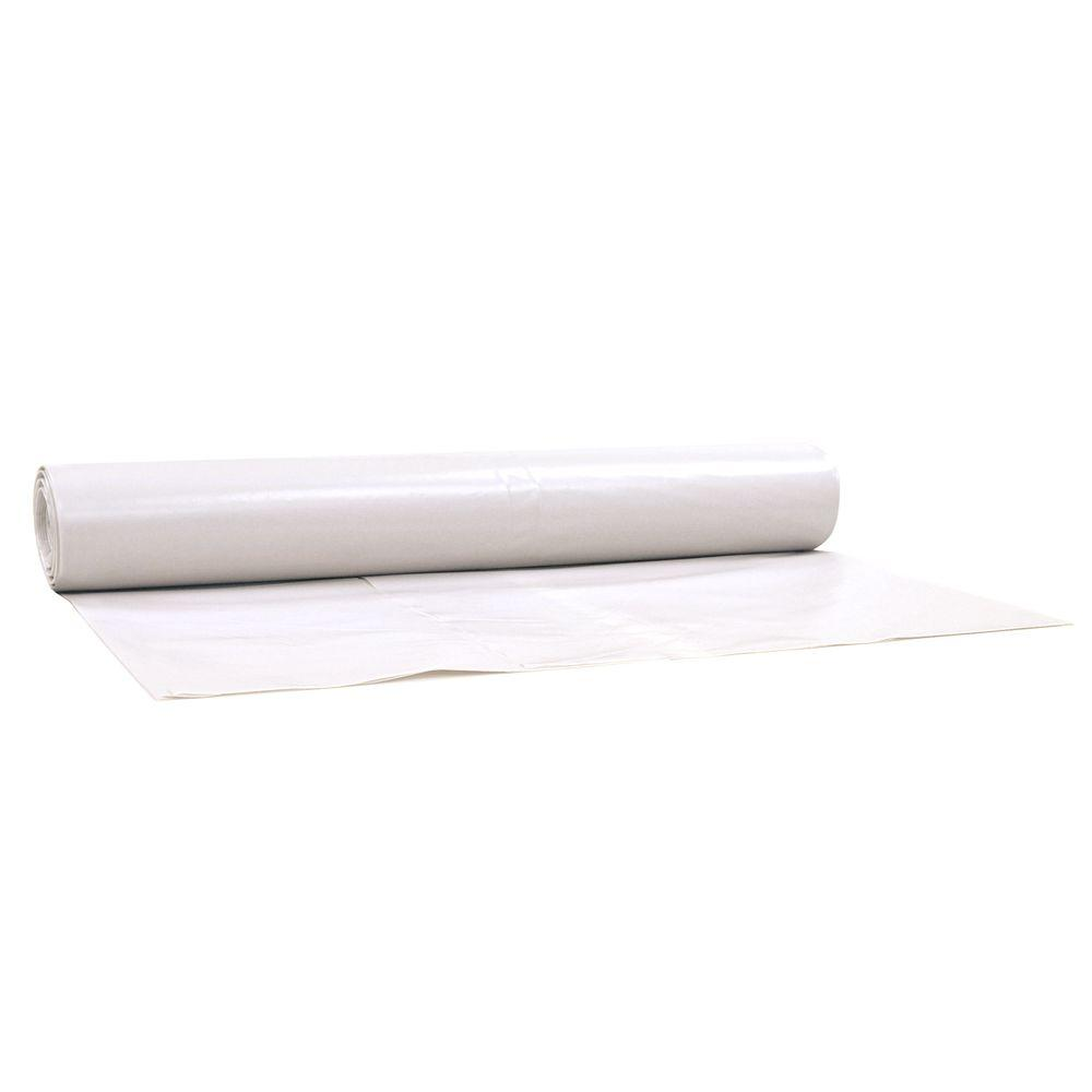 plastic sheeting roll polyethylene 6 mil medium heavy duty. Black Bedroom Furniture Sets. Home Design Ideas