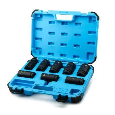 3/4 in. Drive SAE Deep Impact Socket Set (8-Piece)