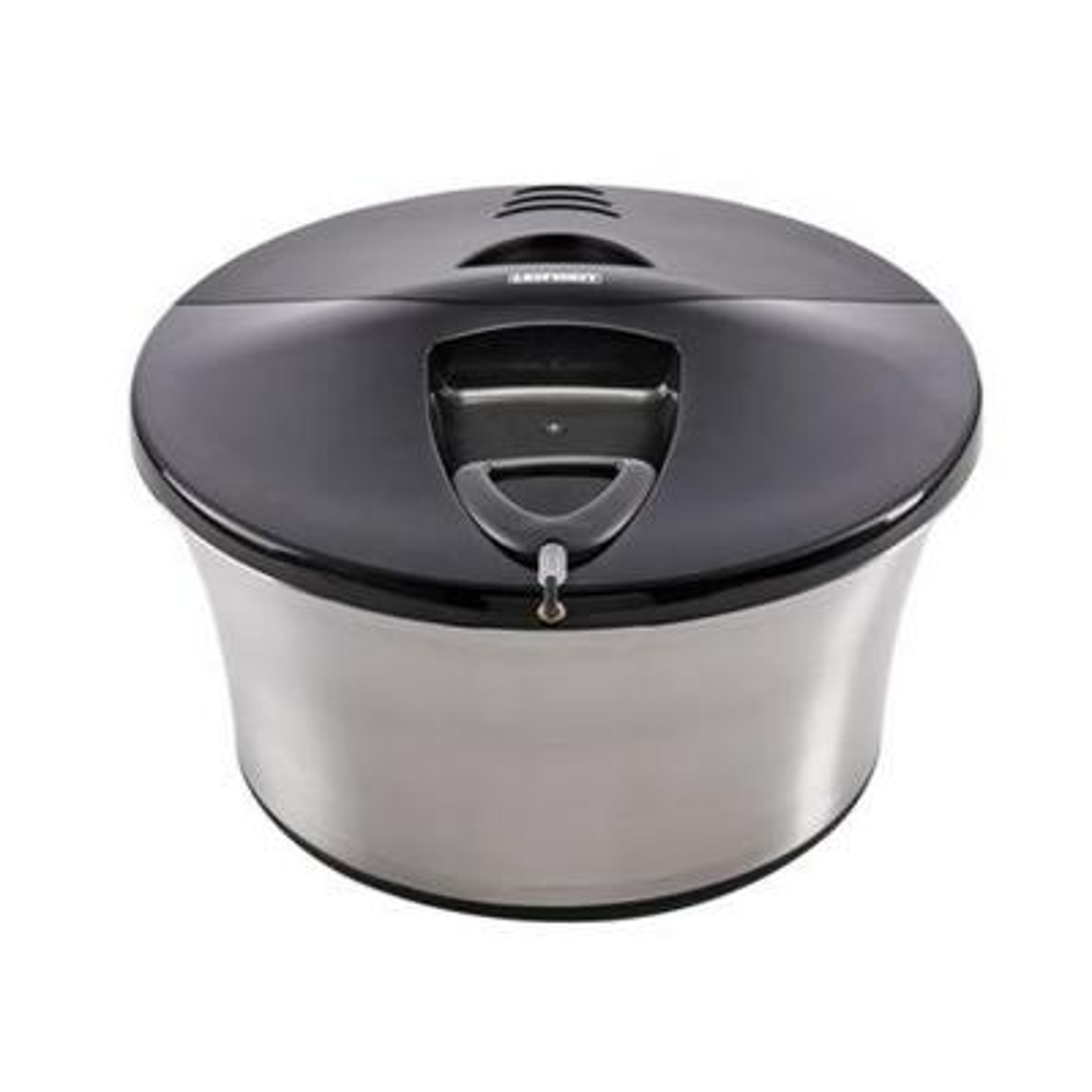 Stainless Steel Salad Spinner Serving Bowl