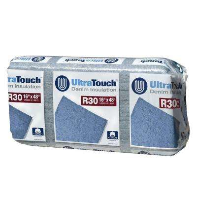 16.25 in. x 48 in. R30 Denim Insulation (12-Bags)