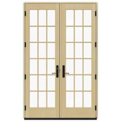 60 in. x 96 in. W-4500 Dark Chocolate Clad Wood Right-  sc 1 st  The Home Depot & The Home Depot pezcame.com