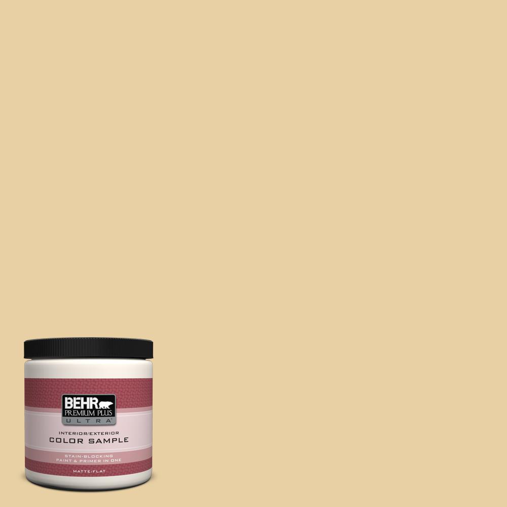 BEHR Premium Plus Ultra 8 oz. #M300-3 Harmonious Gold Interior/Exterior Paint Sample