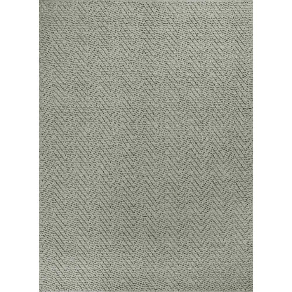 Kas Rugs Organic Heather Herringbone Grey 8 ft. x 11 ft. Area Rug The Kas Rugs 8 ft. x 11 ft. Area Rug will radiate warmth and elegance in any room. This hooked rug comes in a gray shade, adding just the subtle touch you need to complete your home. It has an oriental pattern for a crafted statement piece that never goes out of style. It has a 100% jute design, which feels softer than other natural fibers such as sisal and seagrass, but is still durable. With materials known to have low VOC emissions, it will not need to be aerated. Color: Grey.